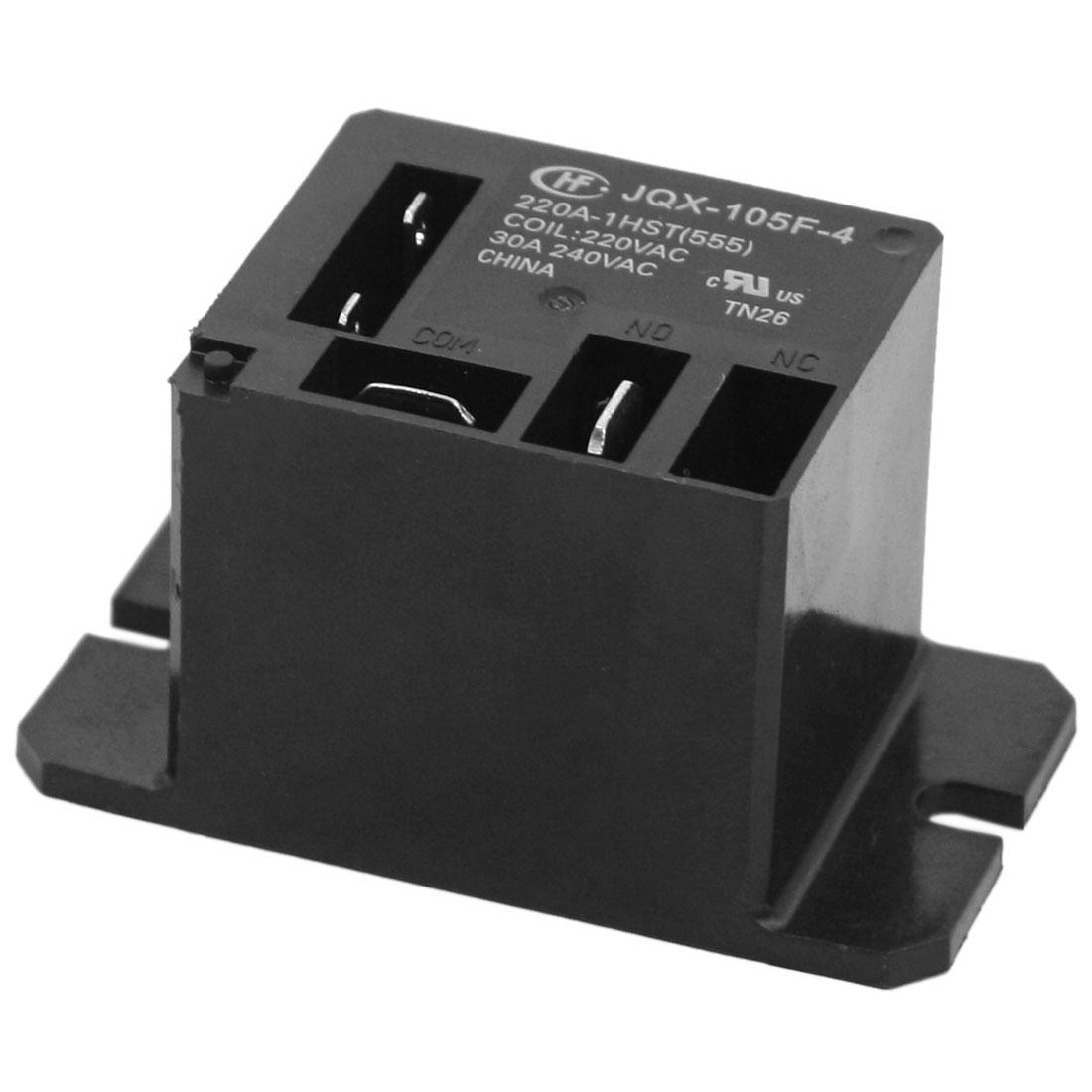 Online Cheap Miniature High Power Single Pole Normally Open Car Relay Vs Closed Jqx 105f 4