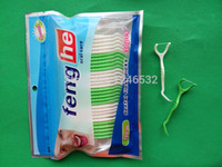 Wholesale Oral Care Products - Wholesale-Good Quality Dental Floss Picks 30 pcs per Bag Good Oral Care Products Free Shipping