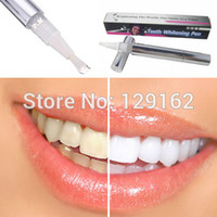 Wholesale Cheap Teeth Whitening Pens - Wholesale-1Pcs Teeth Whitening Pen Tooth Gel Whitener Bleach Remove Stains Eraser Remove Instant Dental Care Cheap Teeth whiter wholesale