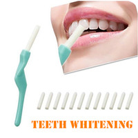 Wholesale Dental Oral Whitening Cleaning Stick - Wholesale-New 1SET Personal Care Oral Hygiene Teeth Whitening 1PCS Tooth Peeling Stick + 25 PCS Eraser For Dental Cleaning #8342