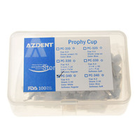 Wholesale Dental Cups - Wholesale-100pc Box Dental lab Oral hygiene Disposable Polishing Cups Brush Polisher Flat Latch Nylon Type Rubber Prophy Cup