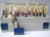 Atacado-Novo Dental Vita 3D-Master Tooth Guia Dentes Guia do Sistema 29 Guia de cores Shades!