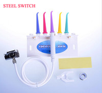 Wholesale Dental Portable Units - Wholesale-Free shipping STELL SWITCH Dental water floss oral irrigator dental SPA unit dental water jet home SPA portable oral irrigator