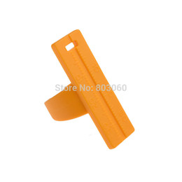 Wholesale Plastic Instrument Dental - Wholesale-New arrival 1 Pc Dental Instruments Endo Plastic Endodontic Finger Rulers Span Measure Scale Yellow