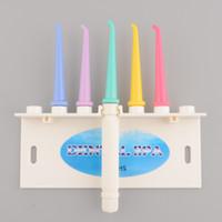 Wholesale Teeth Cleaning Unit - Wholesale-Dental Floss Oral Irrigator Dental SPA Unit Teeth Cleaner Oral Hygiene Gum Jet Free shipping