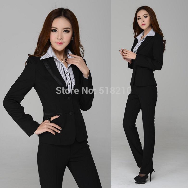 Online Cheap Wholesale New 2015 Fashion Women Pants Suits For ...