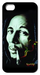 Wholesale Case 4s Bob - 2015 Fashion Retail Bob Marley style Hard Case Caso Cover for iphone 4 4S 5 5S 5C 6 PLSU Free Shipping
