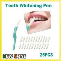 Wholesale Minimum Order Pc - Wholesale-(Minimum Order 10$) Teeth Tooth Whitening Pen Dental Peeling Stick + 25 Pcs Eraser