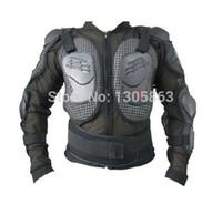 ingrosso giacche da corazza-Trasporto all'ingrosso-libero! Nuove giacche del motociclo dell'armatura di motocross dell'armatura del corpo del motociclo con l'ingranaggio protettivo che taglia il nero: M-XXXL