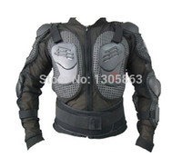 Wholesale Motorcycle Armor Gear - Wholesale-Free shipping!New motorcycle body armor motocross armour motorcycle jackets with protective gear black size:M-XXXL