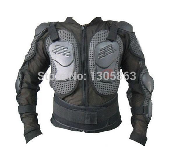 Atacado-Frete grátis! Nova motocicleta corpo armadura motocross jaquetas de motocicleta armadura com equipamento de proteção tamanho preto: M-XXXL