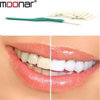 Wholesale Teeth Whitening Stick 25 - Wholesale-whiten teeth tooth dental peeling stick 25 pcs Oral Hygiene teeth brush 1 pack free shipping ZMPJ435