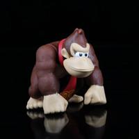 "Wholesale Super Mario Bros Donkey Kong - Wholesale-Details about QWB New Super Mario Bros Donkey Kong 6"" PVC FigureFree Shipping"