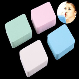 Wholesale Low Cost Makeup - Wholesale-2015 Special High Quality Low Cost Simple Design Magic Function 4pcs Soft Makeup Cosmetic Facial Powder Sponge Puff #16135