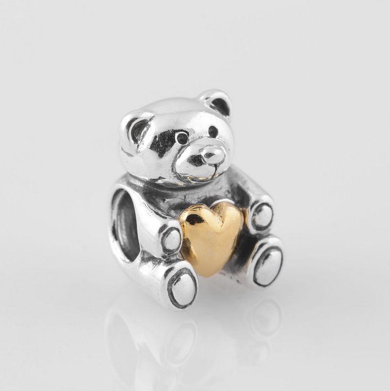 charm pandora orso