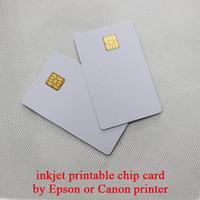 impresora de tarjetas de inyección de tinta al por mayor-Tarjeta de chip de inyección de tinta al por mayor-libre para impresora directamente 25pcs / lot