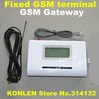 Wholesale Fix Gsm - Wholesale-gsm gateway   fwt fixed wireless phone terminal with screen for connect desk phone to make phone call