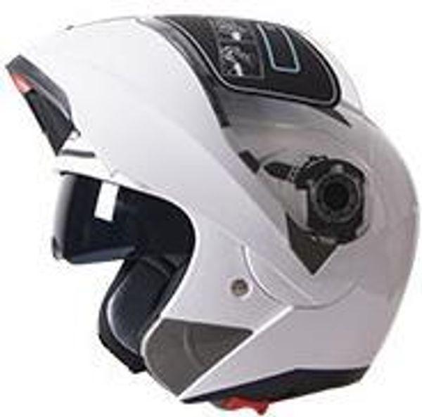 Vente en gros-JIEKAI 105 double casque de moto système de visière double chaque coureur afable M L XL XXL disponible