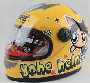 Wholesale-Professional Kids/Children Motorcycle Full Face Helmet, with Removable Neck Cover for Winter ,DOT, ECE Approved