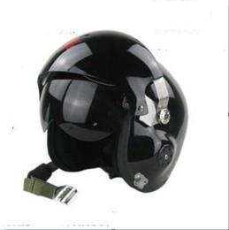 Wholesale Helmet S - Wholesale-Pilot helmet fighter ver5 motorcycle ride helmet flight helmet