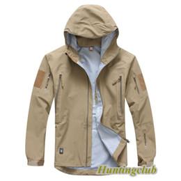 Wholesale Tad Spectre Hardshell - Wholesale-TOP Original Quality TAD Outdoor Coats Spectre Hardshell breathable waterproof military jacket Black