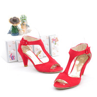 Wholesale Sexy Shoes For Ladies - Wholesale-Free shipping high heel sandals hot sale nubuck leather 2015 Fashion dress shoes for sexy lady size34-39