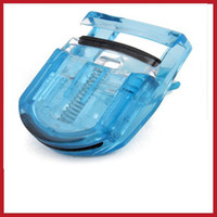 Wholesale Mini Portable Eyelash - Wholesale-New Design alione Mini Portable Curling Eye Lash Eyelashes Curler Clip Hot lower price