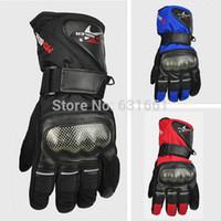 Wholesale Luvas Pro Biker - Wholesale-Winter Motorcycle Moto Gloves Pro biker Waterproof Motocross Motorbike GP Enduro Racing Mtb Glove Motocicleta luvas para Guantes