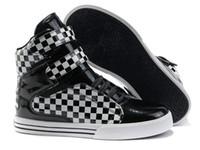 sapatas justin do bieber venda por atacado-Atacado-BlacK Plaid marca Sneahers Justin Bieber sapatos Justin Sneakers para homens esporte executando basquete skate