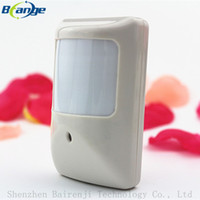 Wholesale Wide Angle Security System - Wholesale-3PCS Brand new Detector Wired PIR Detector Wired Wide angle PIR Sensor for home security gsm alarm system