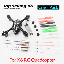 $enCountryForm.capitalKeyWord Australia - Wholesale-Value Meal Top Selling X6 H108C Spare Parts Crash Pack within Body Shell Motors Blades ,etc VS Hubsan X4 H107C Free Shipping