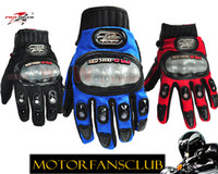 Wholesale Riding Full Finger Protective Gloves - Wholesale-Brand New Motorcycle Motorbike Sport Gloves for Riding Racing Cycling Full Finger protective glove for racing free shipping