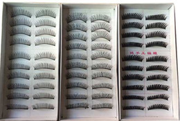 Drop Shipping False Cils Pas Cher-Gros-3 boîte Livraison gratuite New 30 Pair style épais long Faux Cils Cils Eye Lashes drop ship Maquillage Voluminous