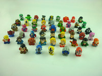 Wholesale Super Mario Figures Wholesale - Wholesale-30pcs set SQUINKIES heros marvel capsule mini figures toys(different styles)