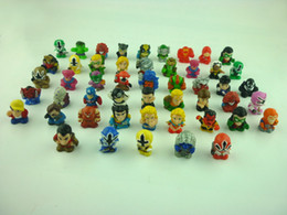 Wholesale Mario Minis - Wholesale-30pcs set SQUINKIES heros marvel capsule mini figures toys(different styles)