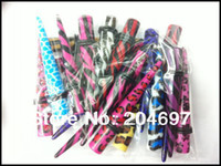 Wholesale Mixed Logo Tapers - Wholesale-Mix 120pcs 3-10mm Logo Print Acrylic Straight Taper Ear Tunnel Stretcher Expander Plug Body Piercing Jewelry Wholesale