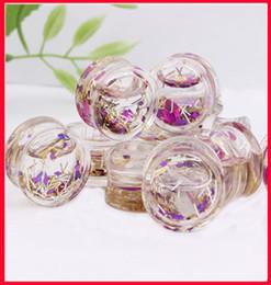 Wholesale Acrylic Glitter Plugs - Wholesale-Free shipping (F57) wholesale 60pcs lot mix 6-16mm Acrylic Glitter Plug Liquid Flesh Plug Tunnel Ears Gauge Piercing