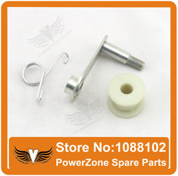 Wholesale Chain Roller Ship - Wholesale- Chain Roller Tensioner Fit 125cc 150cc 200cc 250cc Dirt Pit Bike, Motorcycle ATV Quad parts free shipping