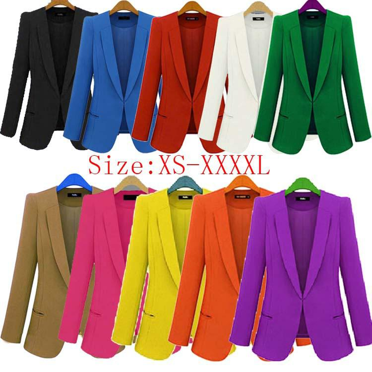 Wholesale New 2015 Blazer Women Casacos Femininos Basic Jackets ...