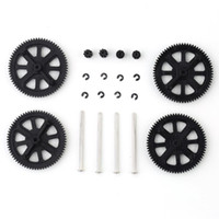 Wholesale Parrot Drone Gear - Wholesale-Motor Pinion Gear Set & Shaft Set for Parrot AR Drone 2.0 Quadcopter Black E0Xc HM011