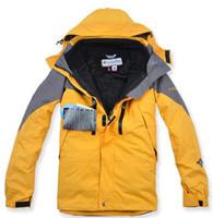 Wholesale Male Outdoor Jacket - Wholesale-NEW Warm man's jacket coat, the Colombian fashion clothes, winter coat 2, and 1 2-layer coat coat, Male Outdoor skiing