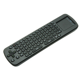 Wholesale Android Tv Rc12 - Wholesale-2 Select 1 Measy RC12 & RC11( English) 2.4Ghz Fly Air Mouse Wireless Keyboard Combos Remote For Android mini PC TV Box