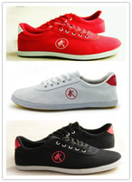 мужская обувь оптовых-Wholesale-Chinese  Men Women Sport relax kungfu shoes wushu Tai Chi shoes Martial Arts running Canvas Sneaker Shoes sapatilhas