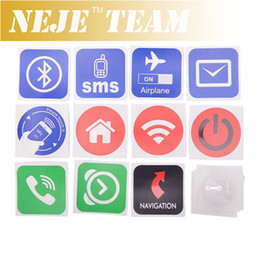Wholesale Nfc S4 - Wholesale-10 NFC Tags for Samsung Galaxy S4 GS4 (NTAG203) compatible with all others nfc android phone