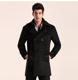 Discount Men Pea Coats Sale | 2017 Men Pea Coats Sale on Sale at ...