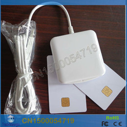Wholesale Ic Card Writer - Wholesale-PC SC Contact IC Chip Smart Card Reader Writer kartenleser ACR38U_IPC USB Support CT-API Programming Interface Free Shipping