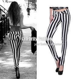 Vertical Striped Pants Plus Size Online   Vertical Striped Pants ...