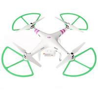 pervane muhafazası toptan satış-Wholesale-4Pcs Çok renkli Pervane Prop Koruyucu Güvenlik Tampon Koruyucu DJI Phantom 1 2 Vizyon RC Quadcopter için
