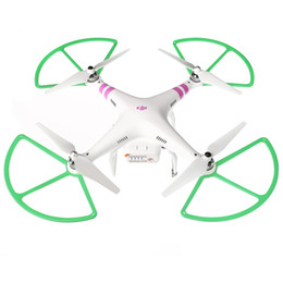 Discount dji vision - Wholesale-4Pcs Multi-color Propeller Prop Protective Guard Bumper Protector for DJI Phantom 1 2 Vision RC Quadcopter