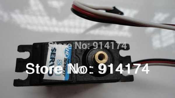 Wholesale-henglong 3851-2 1 10 RC car Mad truck parts S-07 Metal Gear Servos free shipping